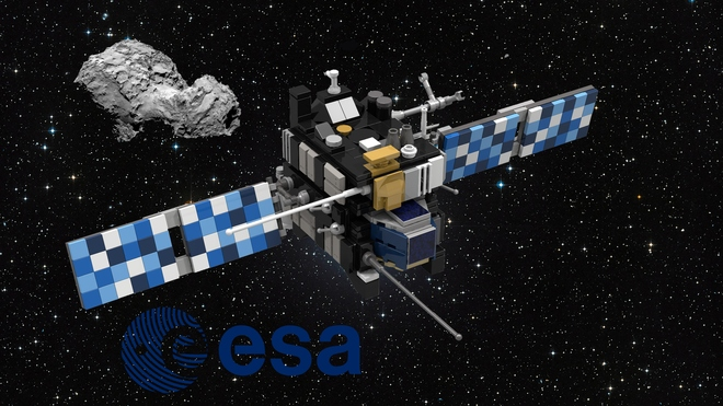 Rosetta and Philae (Space probe and comet lander) | Let's ...